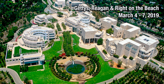 Gettys, Reagan & Right on the Beach